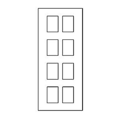 Дверная накладка 01