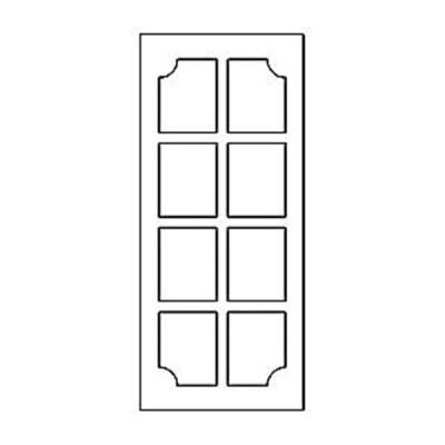 Дверная накладка 04