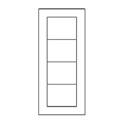 Дверная накладка 06