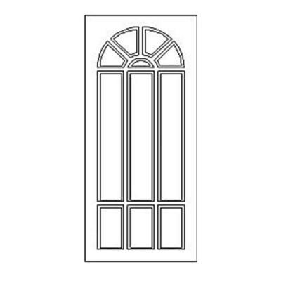 Дверная накладка 09