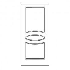 Дверная накладка 12