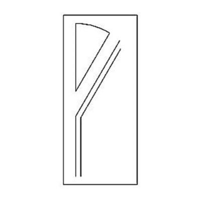 Дверная накладка 17
