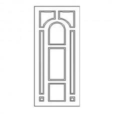 Дверная накладка 18