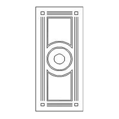 Дверная накладка 20