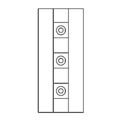 Дверная накладка 23
