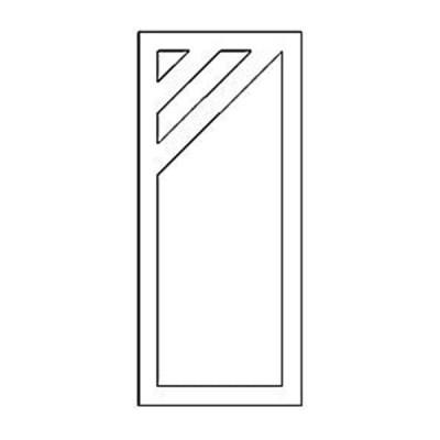Дверная накладка 25