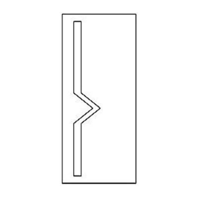 Дверная накладка 27