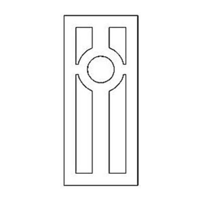 Дверная накладка 28